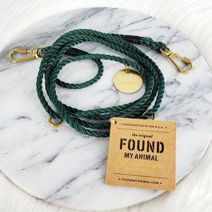 The Original Found My Animal Green Rope Dog Leash